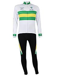 Kooplus2013 Campeonato Jersey Austrália poliéster e Lycra e tecido elástico Ciclismo Suits (camisa + Bib-calças)