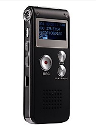 4G MP3 Digital Voice Recorder (Schwarz)