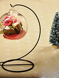 Table Centerpieces Round Hanging Glass Vase  Table Deocrations