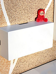 Fashion White Plastic Electric Wire Storage Box