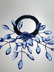Mariage de fleur Serviette Set de 6, Pétale métal Dia 4.5cm