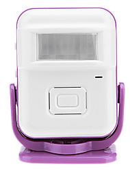Home Security Digital Wireless Electronic Control Grußtürklingel mit Bewegung aktiviert Eintrag Alarm-Funktion