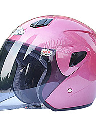 711-2 ABS Material Motorcycle Half Helmet (With The Tawny Lens,Optional Colors)