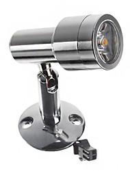 1W 110LM 2800-3300K luz branca quente LED de alta qualidade Gabinete Light (AC 90-240V)