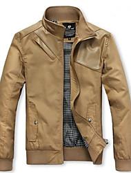 Capa de la chaqueta de moda de manga larga para Hombres