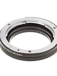 CY-Nikon Bague d'adaptation d'objectif de caméra (noir)