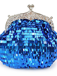 Amazing Sequins Metal With Rhinestone Clutches/Evening Handbags(More Colors)