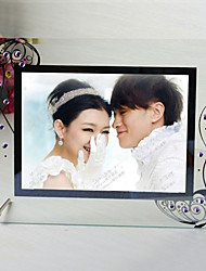 "6.25""H Modern Style Creative Beautiful Glass Picture Frame"