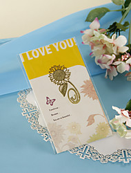 Girassol dourado Bookmark
