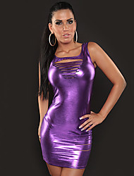 Show Girl Tight Gilded Cloth Nightclub Sexy Party Uniform(For Size M)