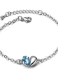 Timeek Blue Crystal Hand Chain