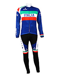 Kooplus - Italian National Team Cycling Long Sleeve Fleece Suit