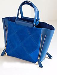 POLO Fashion Simple Crossbody Tote(Blue)