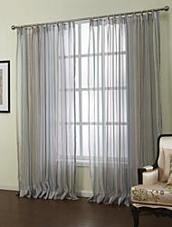 mediterráneo dos paneles de banda cortinas salón azul escarpados tonos