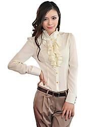 Women's Falbala Long Sleeve Blouse