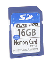 16GB Hi-speed Elite Pro SD Memory Card voor Media Player Camera