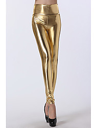 Gold High Waist Leggings