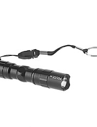 USD $ 3,14 - Mini-LED-Taschenlampe; Single Modus (1xAA, Schwarz)