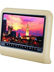 9''Touch Screen Headrest with Portable Multimedia Player and HDMI Input Function