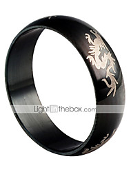Go Favor Titan Stahl Black Dragon Ring
