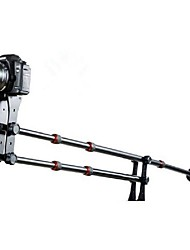 Mini guindaste portátil Pro DSLR Camera Vídeo Guindaste Jib Arm Standard Version + Bag