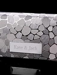Arch personalizado em forma de suporte de metal gravado Business Card (dentro de 10 caracteres)