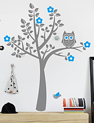 Owl Tree Home Decal Wall Sticker