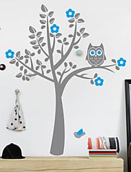 Owl Tree Accueil Decal Sticker mur