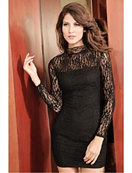 Sexy Wear Fashion Lady Club Dress Lace mini vestito da partito