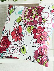 "18 ""Modern Square Mode Polyester coussin décoratif avec insert"