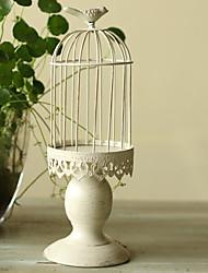 Wedding Décor Birdcage  Card Holder with Bird on the Top