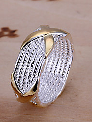 R&D Silver-Plated Ring