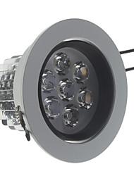 Lâmpada de Teto Regulável 7W 560 LM 3000 K Branco Quente AC 220-240 V Encaixe Embutido