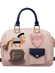 Jet & Sharon Horse Pattern Single Shoulder Sweet Lolita Handbag