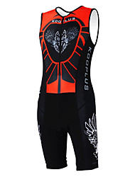 Kooplus Tri Suit Women's Men's Unisex Sleeveless Bike Breathable Quick Dry Moisture Permeability Wearable Coveralls Clothing Sets/Suits
