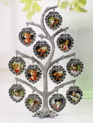 "9.5""H Country Style Metal Tree Shape Picture Frame"