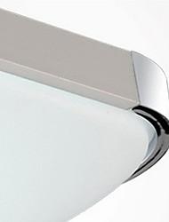 Contemporary LED Flush Mount Light Aluminum Acrylic Electroplating