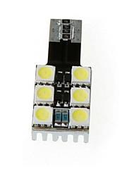 T10 W5W 194 168 6 5050 SMD Blanc Canbus LED Side Car Wedge ampoule de lampe