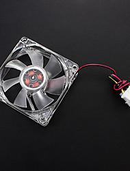 8cm 8005+CP LED LYF Sleeve Fan DC 12V 0.18A