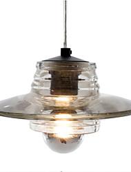 Kristallanhänger, ein Licht, moderne Linsenglas Galvanik
