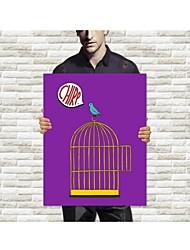 Leinwanddruck The Bird Cage steht auf der