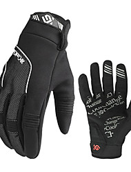 CoolChange Cycling Windproof Black Full Finger Winter Gloves