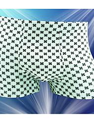 Impressão clássico Shorts e Resumos dos homens