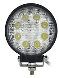 24W 3Wx8LEDS Runde Super Duty Hohe Powered LED-Spot-Licht