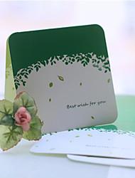 Lascia pattern Greeting Card - set di 12