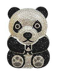 Panda  Bear Animals Evening Metal Purse Bag Handbag