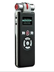 "1 ""ЖК-цифровой USB аккумуляторная диктофон / MP3-плеер / USB Flash Drive-8GB"