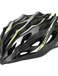 LUNA Ciclismo Verde + Negro PC / EPS 28 Vents MTB Helmet