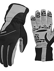 CoolChange Cycling Anti-skid Black Full Finger Winter Gloves