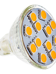 4W GU5.3(MR16) LED Spotlight MR11 12 SMD 5050 210-250 lm Warm White AC 12 V